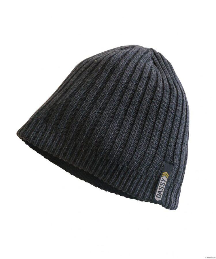 Adīta ziemas cepure 100% kokvilna