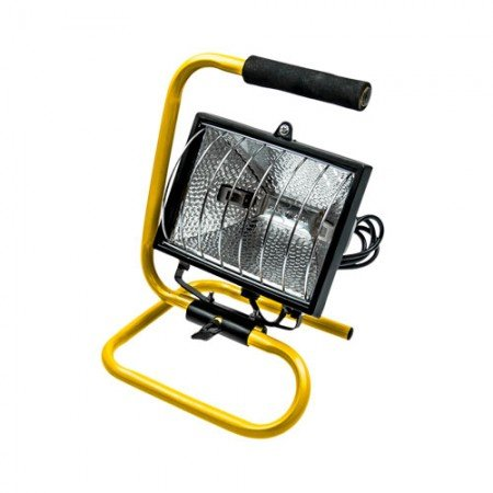 Lampa halogēnā ar rokturi 500W