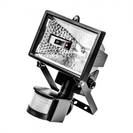 Lampa halogēnā 500W ar sensoru
