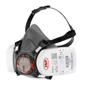 Pusmaska FORCE 8 ar P3 PressToCheck filtriem