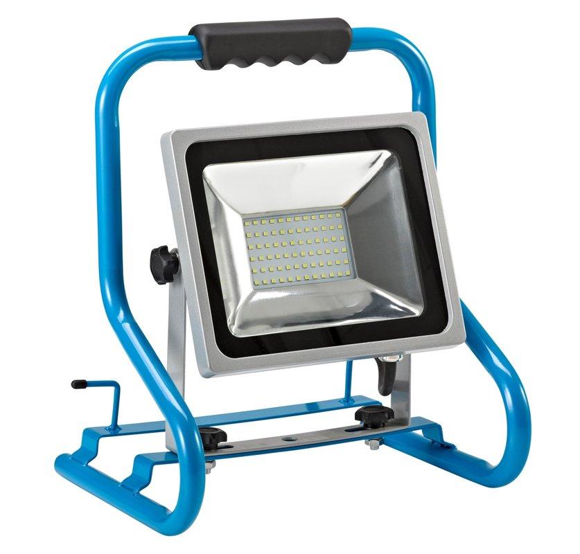 LED prožektors ar rokturi