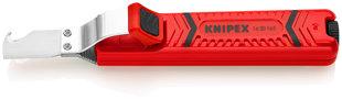 Kabeļu izolācijas tīrīšanas nazis+āķveida smenis 8-28mm Knipex