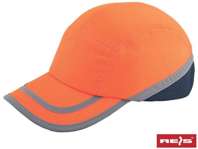 Aizsargcepure oranža atstarojoša