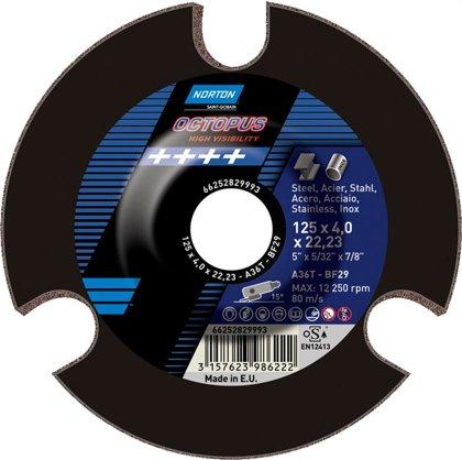 Slīpējamais disks metālam 125x4.0x22 OCTOPUS