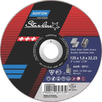 Griežamais disks metālam STARLINE